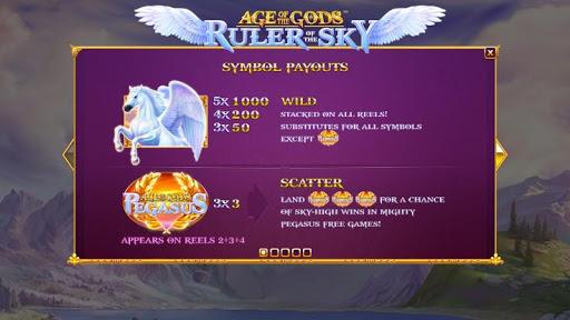 Casino Free Reel Game - RULER OF THE SKY 1.0.1 screenshots 3
