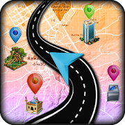 GPS Route Finder Maps Navigation & Direction