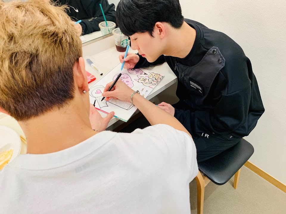 MONSTA X_DRAWING_JOOHEON_MAKING