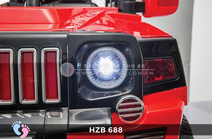 Xe ô tô điện cho bé Jeep HZB-688 14