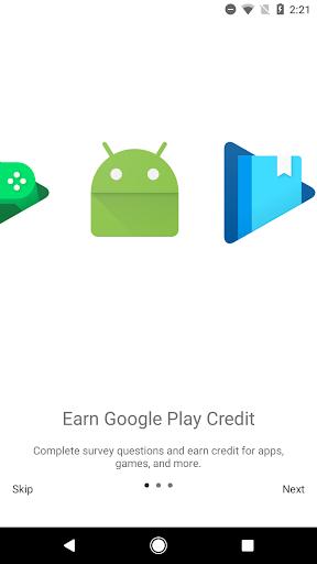Google Opinion Rewards screenshot