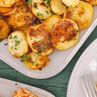 Lemon Roast Potatoes.