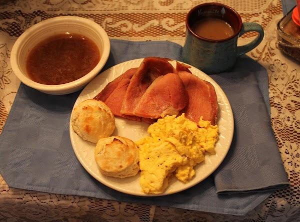 Country Ham And Red-eye Gravy Recipe