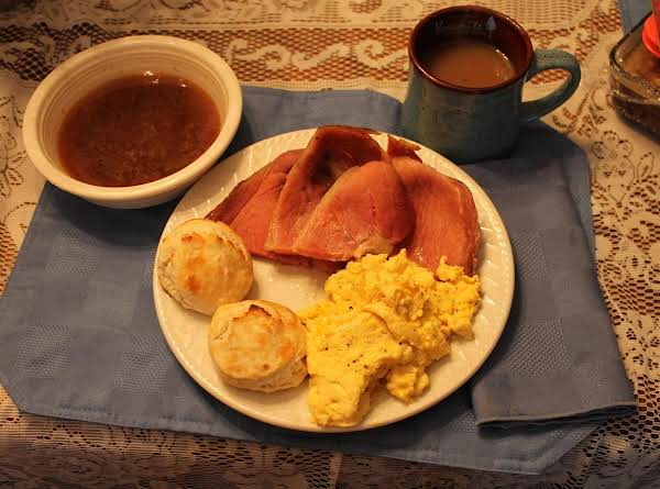 Country Ham And Red-eye Gravy