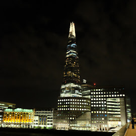 Shard by S B - Buildings & Architecture Other Exteriors ( england, london, uk, night, shard, europe )