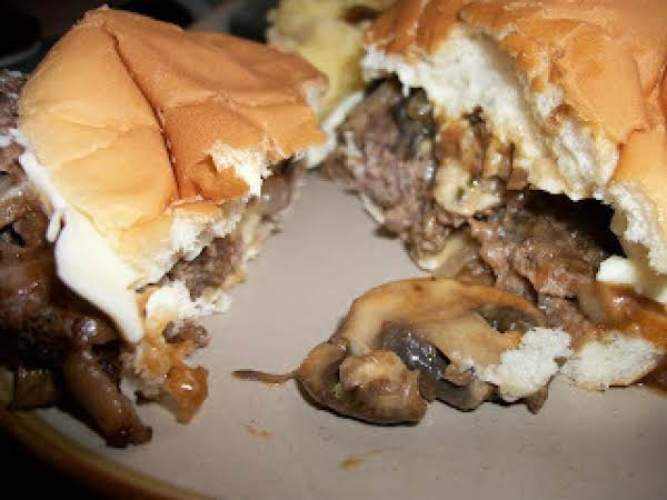 Mushroom And Swiss Burgers Recipe