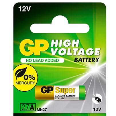 bateria gp 27a 12v 1und