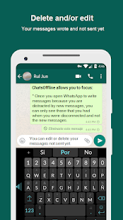 Chats Offline for WhatsApp & +   Read/Write Unseen - náhled