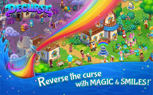 Screenshot for Decurse – A New Magic Farming Game in United States Play Store