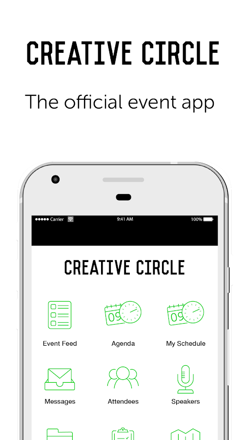 Creative Circle Awards 2017- screenshot