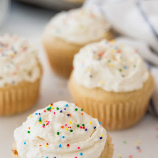 French Yogurt Cupcakes.