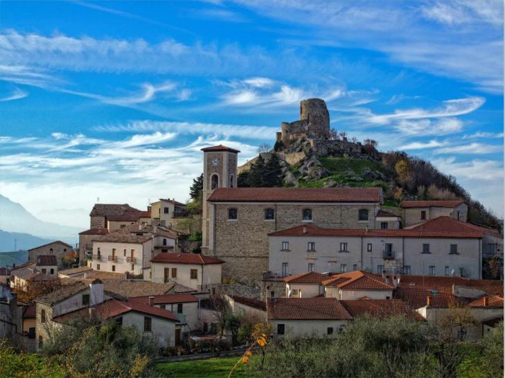 medieval village of Rocca San Felice