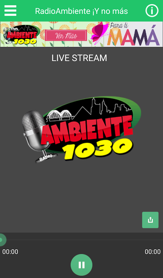 Radio Ambiente- screenshot