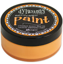 Dylusions Paint 59 ml - Squeezed Orange