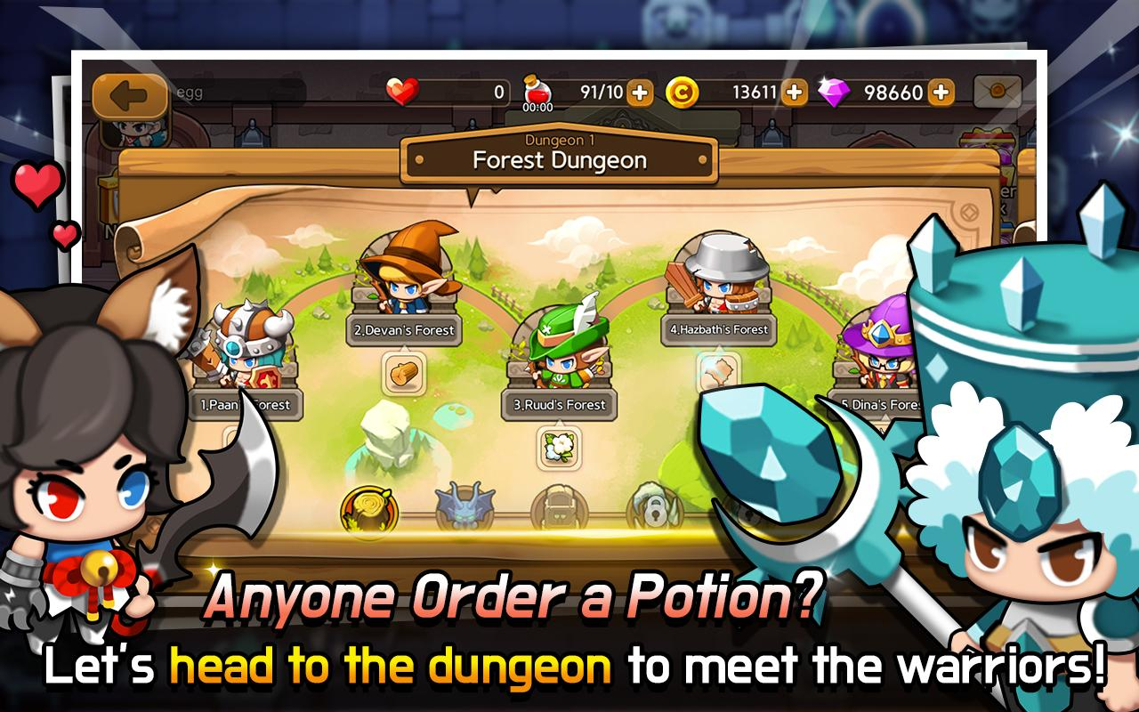 Dungeon Delivery- screenshot