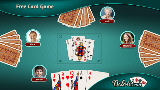 Belote.com - Free Belote Game apktram screenshots 1