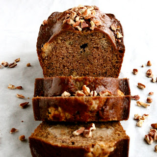 Bourbon Pecan Cookie Dough Banana Bread