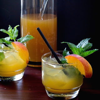 Peach Mint Julep