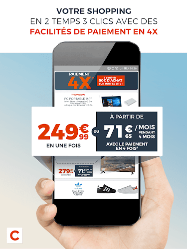 Cdiscount : Soldes jusqu'à -75% ! Android App Screenshot