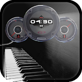 Music Analog Watch Live Wallpaper Clock