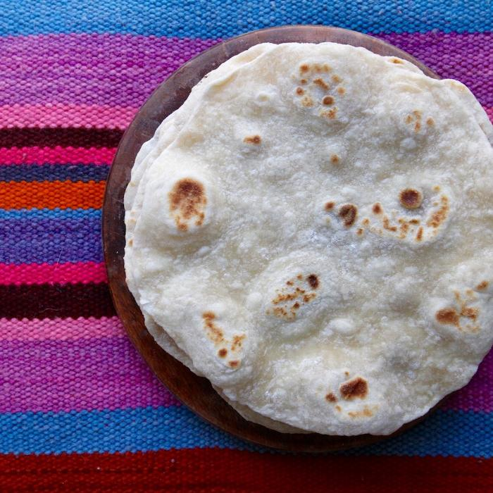 Tia Lisa'S Flour Tortillas Recipe