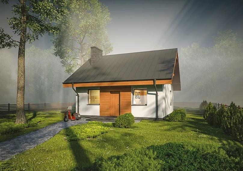 Poznaj 4 powody dla których warto zbudować niewielki dom poza miastem
