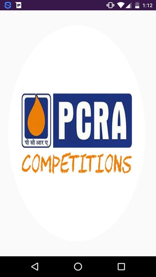 PCRA-Competitions- screenshot