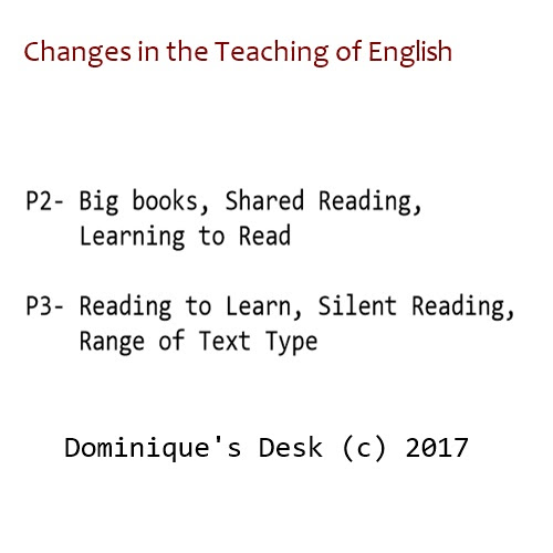Changes in Teaching Of English