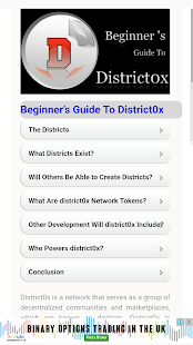DistrictOx Beginners Guide - náhled