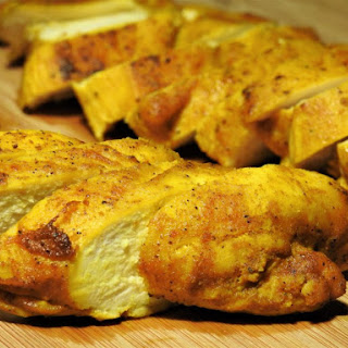 Turmeric Chicken Breast Baked.