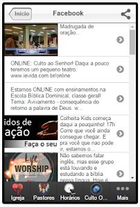 IEV - Igreja Evangélica Vida screenshot 12
