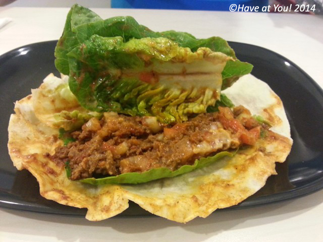 Mexican beef wrap