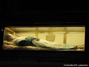 Photo: Szent Zita teste