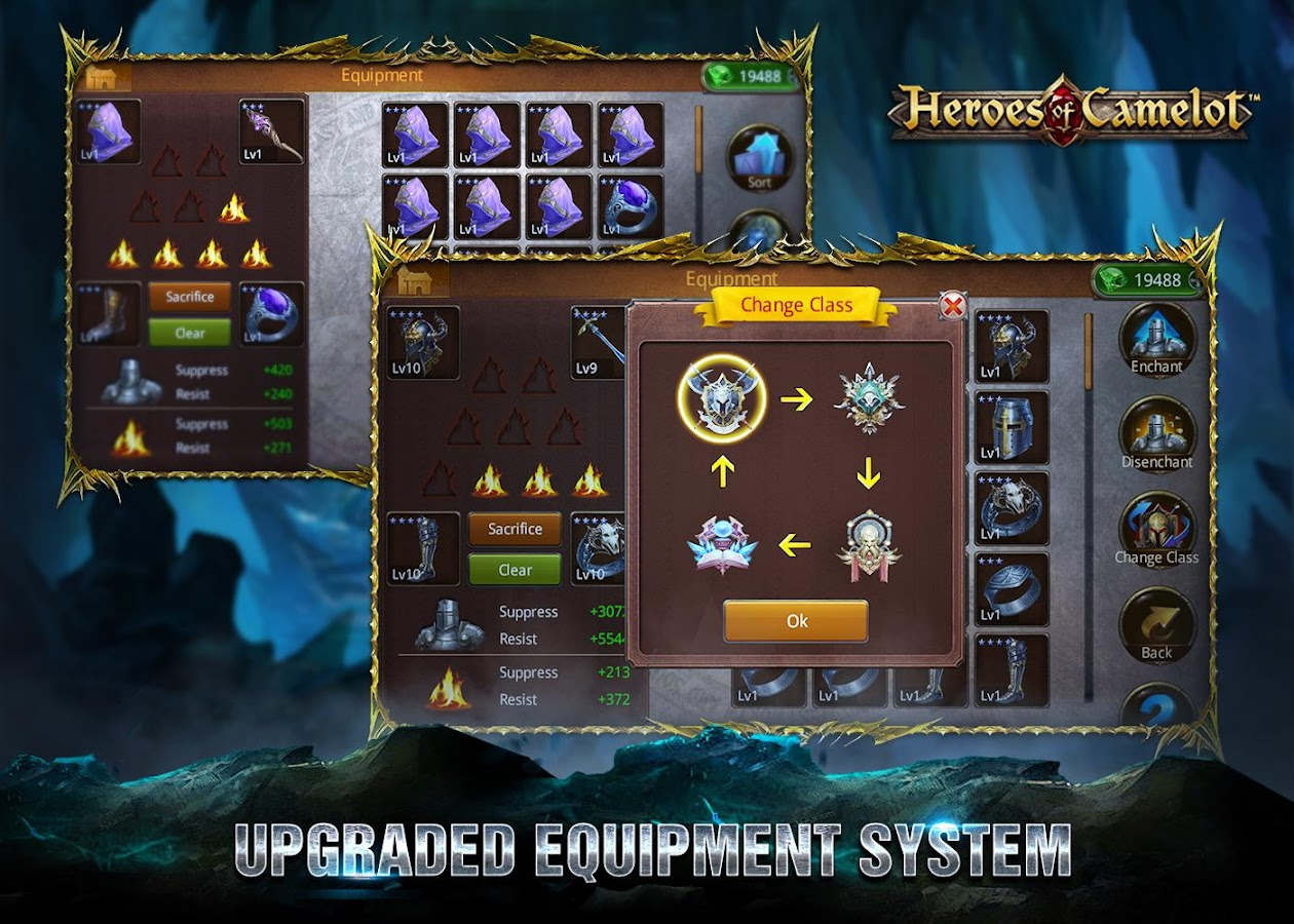 Heroes of Camelot- screenshot
