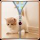 Kitty Zipper Bildschirmsperre