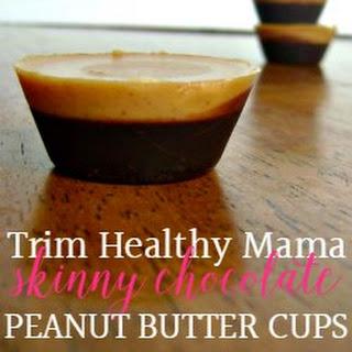 Skinny Chocolate Peanut Butter Cups Recipe