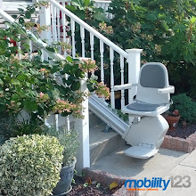 Photo: Acorn Outdoor Stairlifts