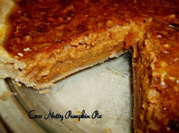 ~ Coco Nutty Pumpkin Pie ~ Recipe