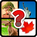 4 Pics 1 Word - Country Quiz icon