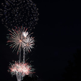 by Amy Sauer - Abstract Fire & Fireworks