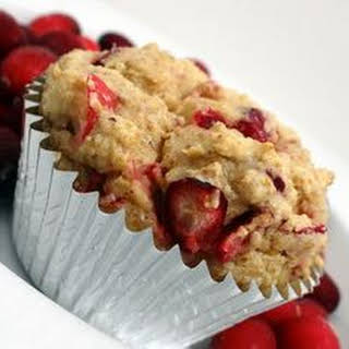 Low Carb Cranberry Muffins.