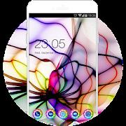 App Fantasy Neon Line Theme: Spider Color Wallpaper HD APK for Kindle