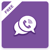 Vibe free calls and messages guide icon