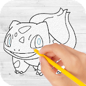 How to draw pokemon & Pokemon APK Icon