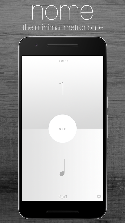 Nome - The Minimal Metronome- screenshot