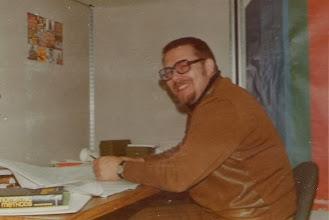 Photo: 19731008 Asko työhuoneessaan, Univ of Pennsylvania, USA