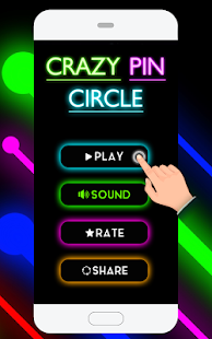 Crazy Pin Ball Circle- screenshot thumbnail