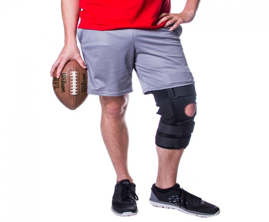Image result for What kind of knee brace should I wear for football?