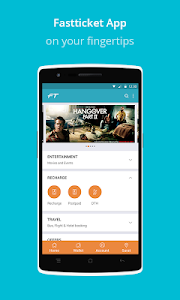 Fastticket - Mobile,DTH,Movies screenshot 0
