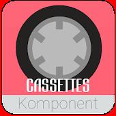 Cassette Komponents for Kustom